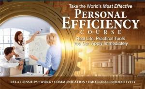 Personal Efficiency Course Ad